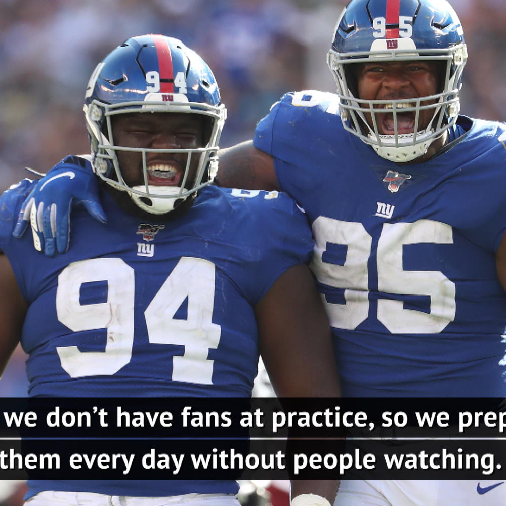 No one wants NFL without fans – Giants coach Judge