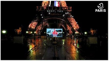 Paris leur dit merci : Hommage aux Parisien.ne.s à la Tour Eiffel
