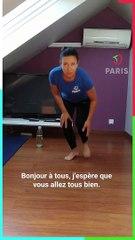 Paris chez vous : 30 minutes de renforcement musculaire, abdos, fessiers et dos avec Christel