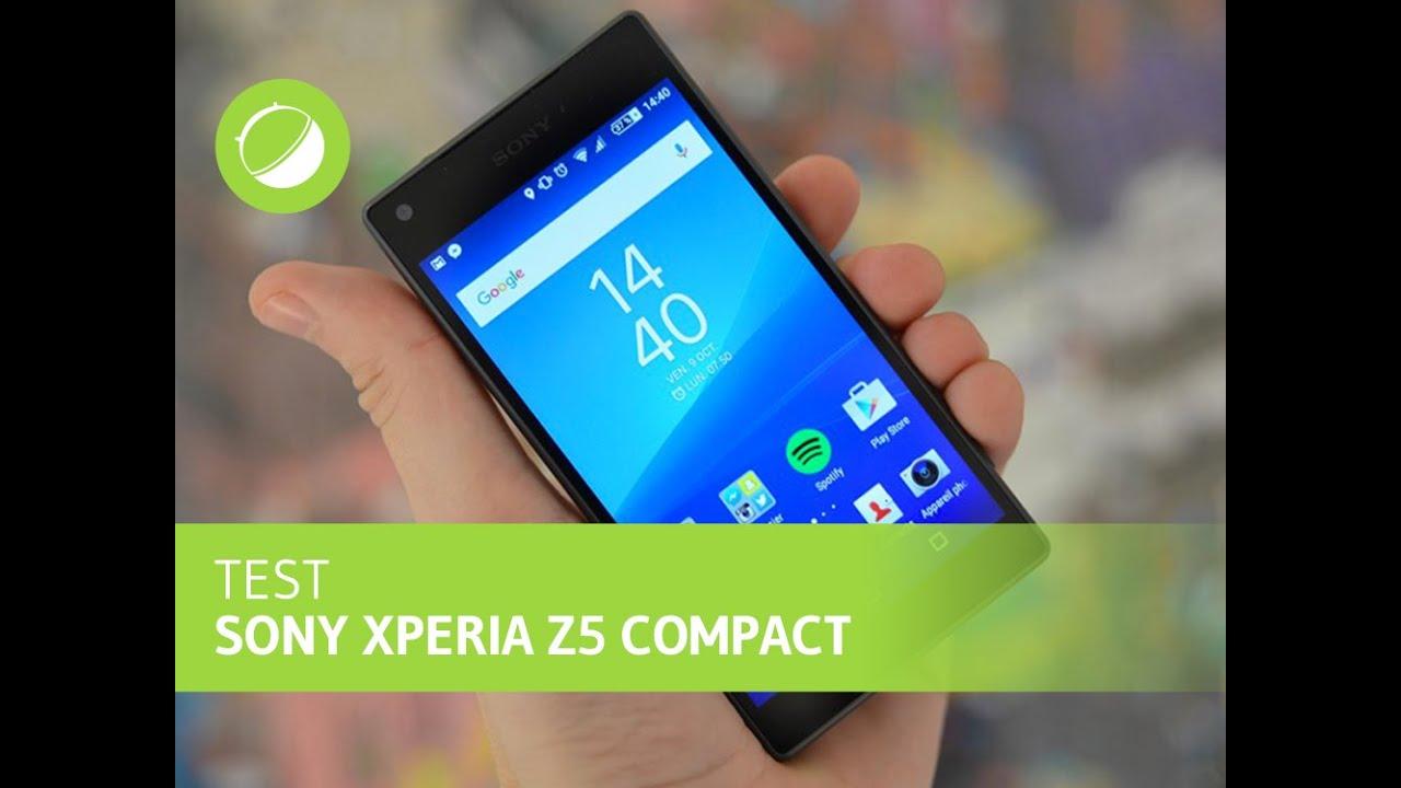 Test du Sony Xperia Z5 Compact