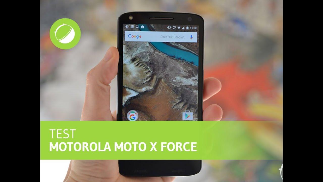 Test du Motorola Moto X Force, l'écran incassable