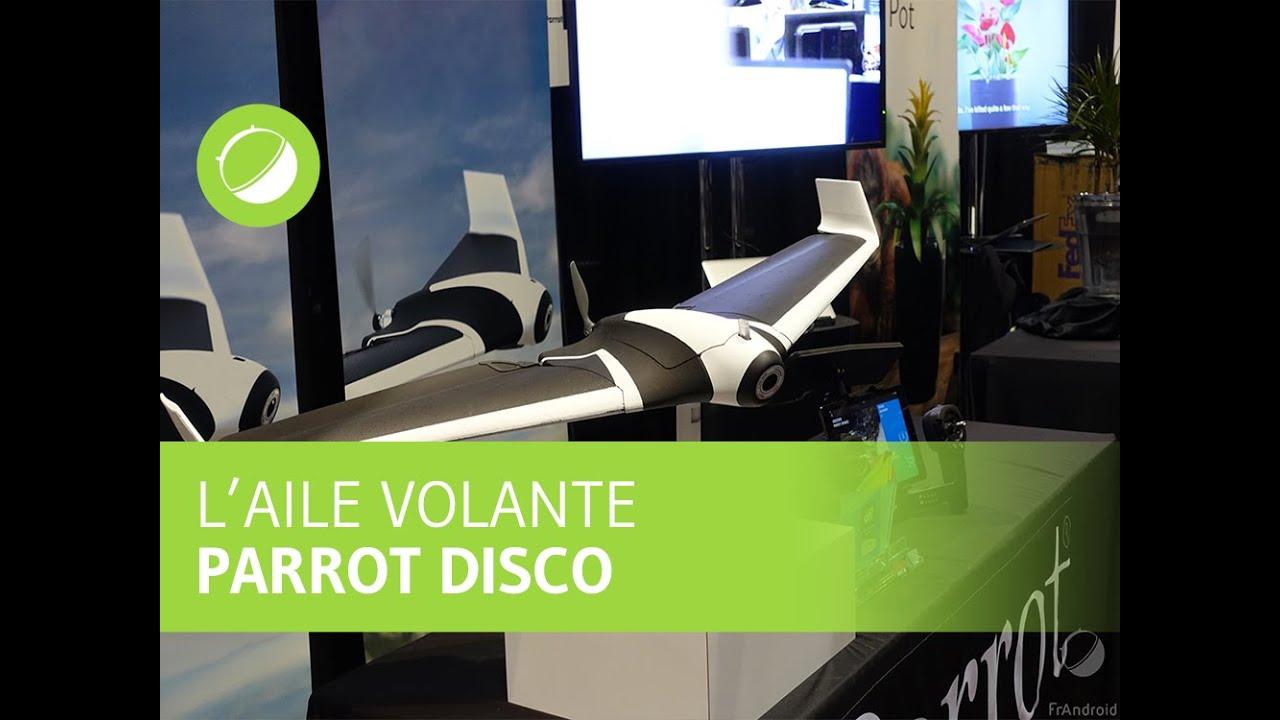 CES 2016 : Parrot Disco, pour tout savoir sur cette aile volante connectée