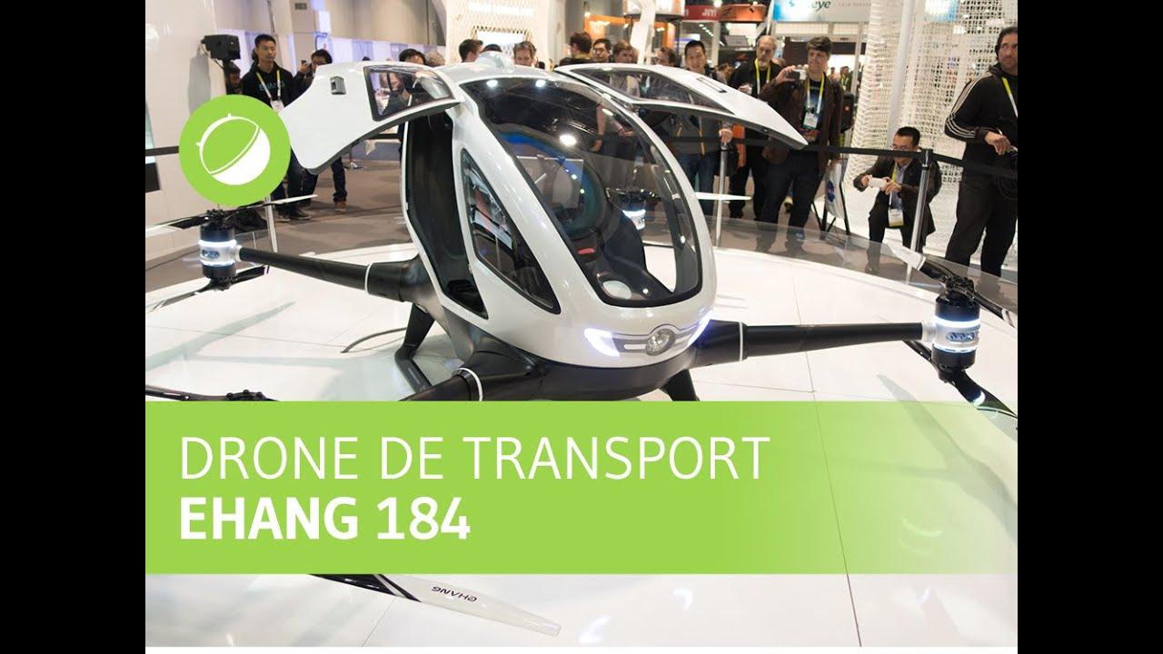 CES 2016 : Ehang 184, le drone autonome capable de transporter une personne