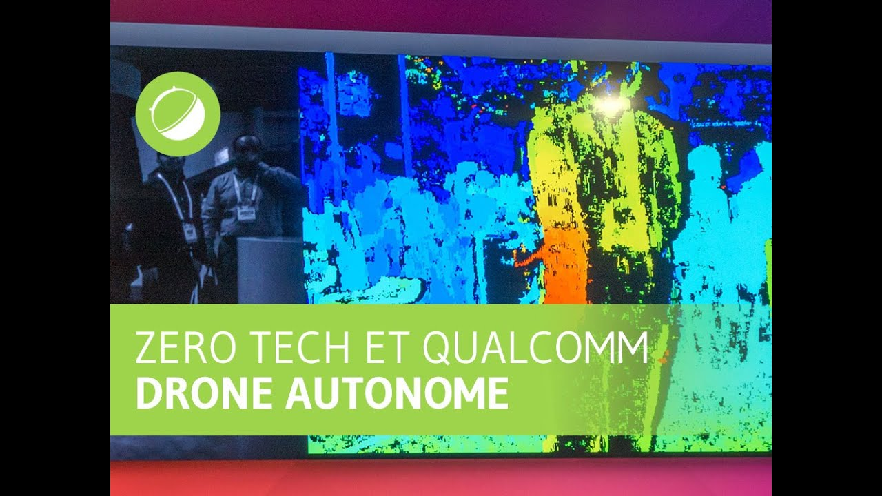 Zero Tech et Snapdragon Flight : la technologie anti-collision pour drones