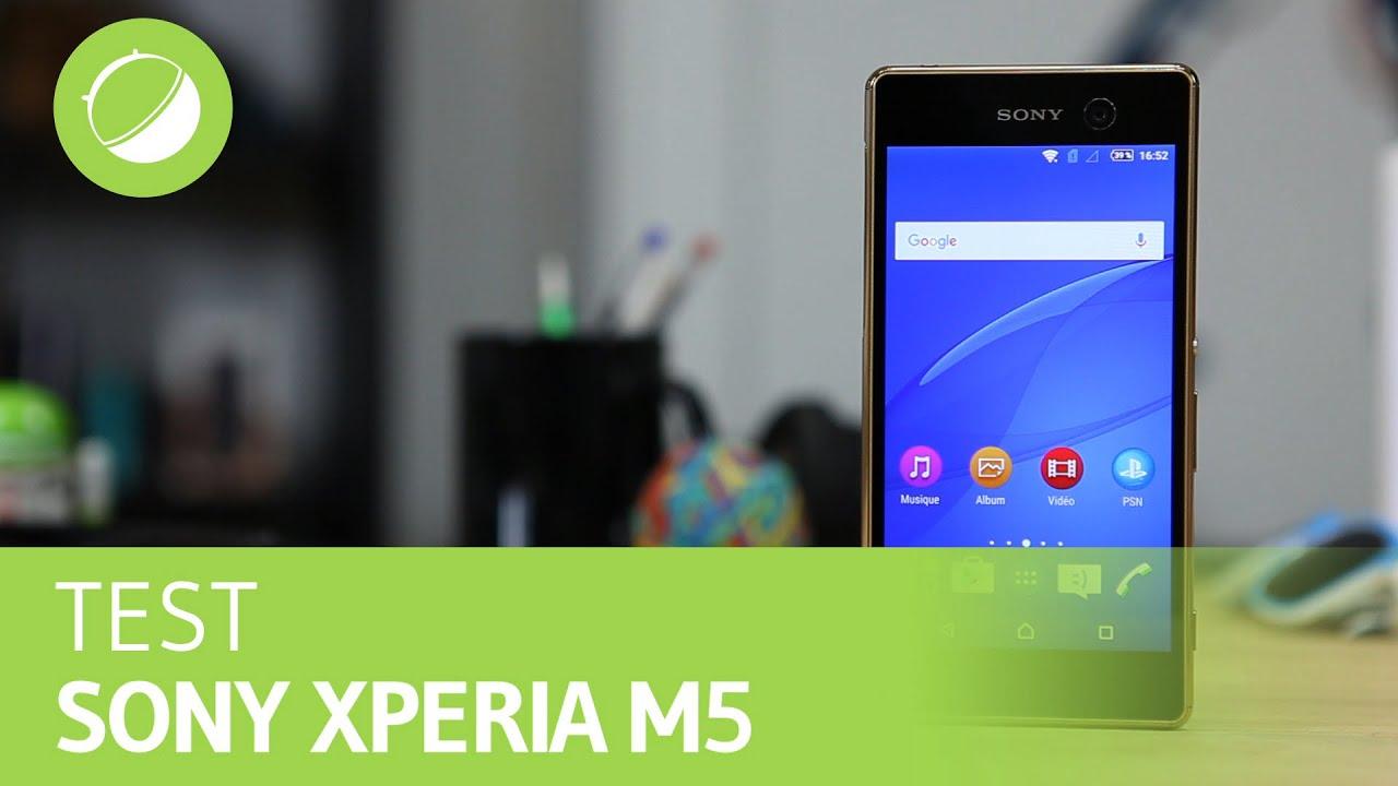 SONY XPERIA M5 : Le test