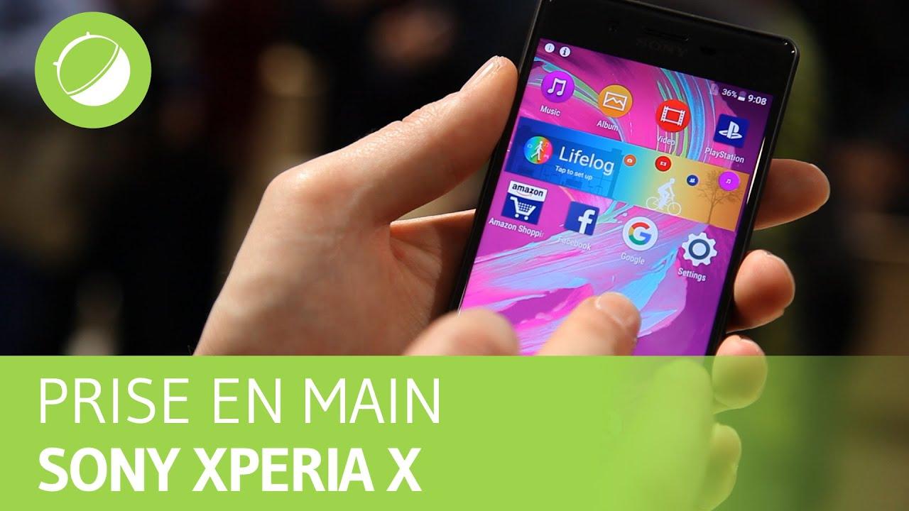 SONY XPERIA X : Prise en main au MWC 2016