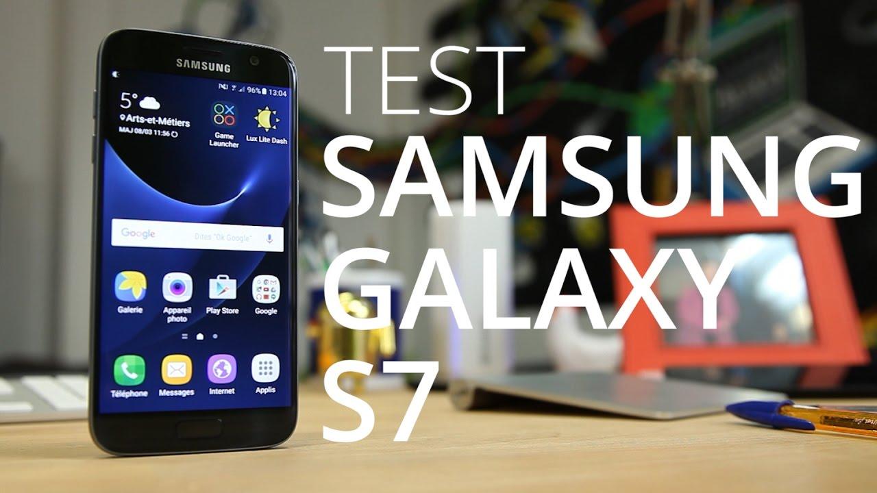 SAMSUNG GALAXY S7 : Le test