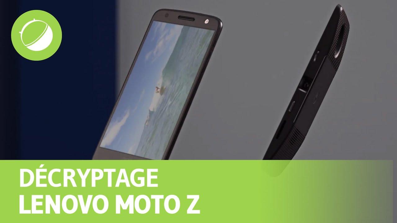 LENOVO MOTO Z : Décryptage des annonces