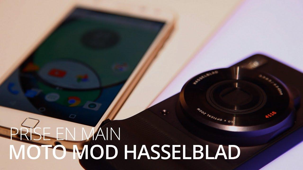 IFA 2016 : Prise en main du Moto Mod Hasselblad True Zoom