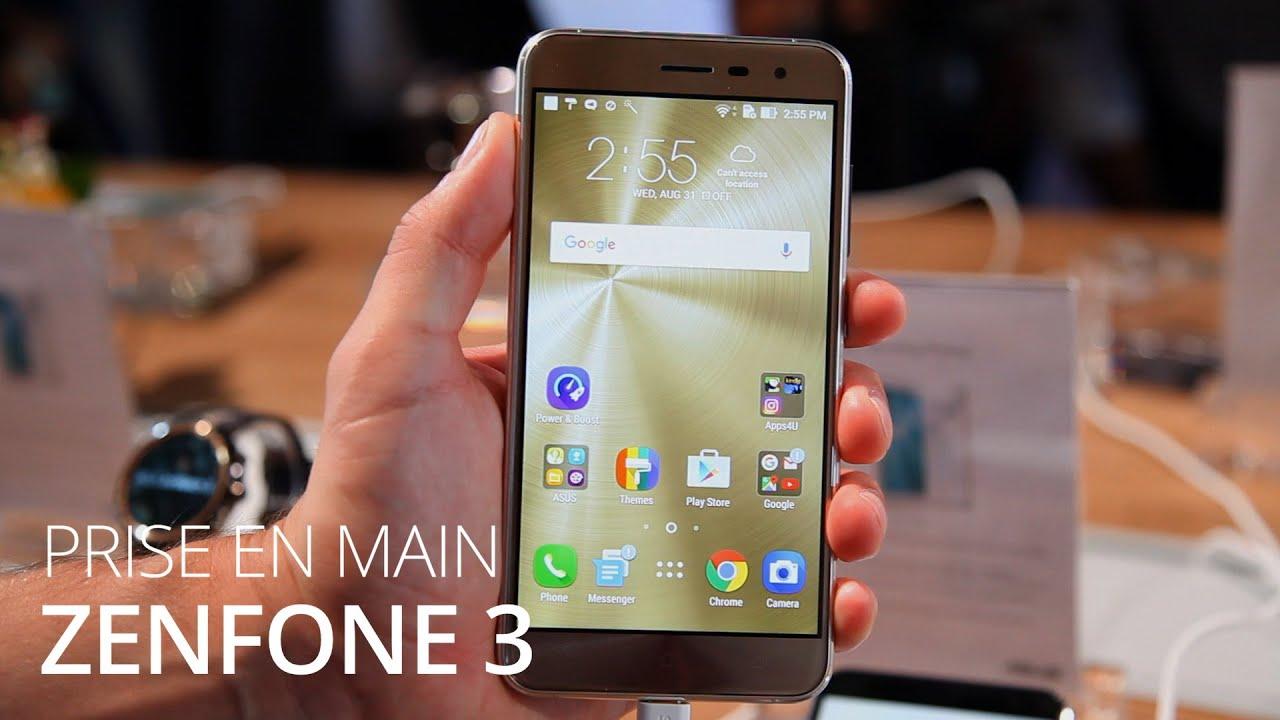 IFA 2016 : Prise en main des Zenfone 3, Zenfone 3 Deluxe et Zenfone 3 Ultra