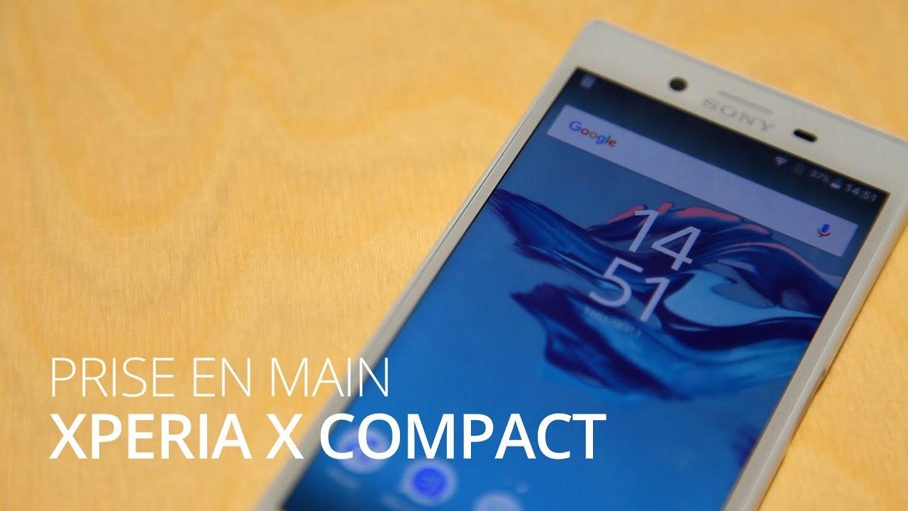 IFA 2016 : Prise en main du Sony Xperia X Compact