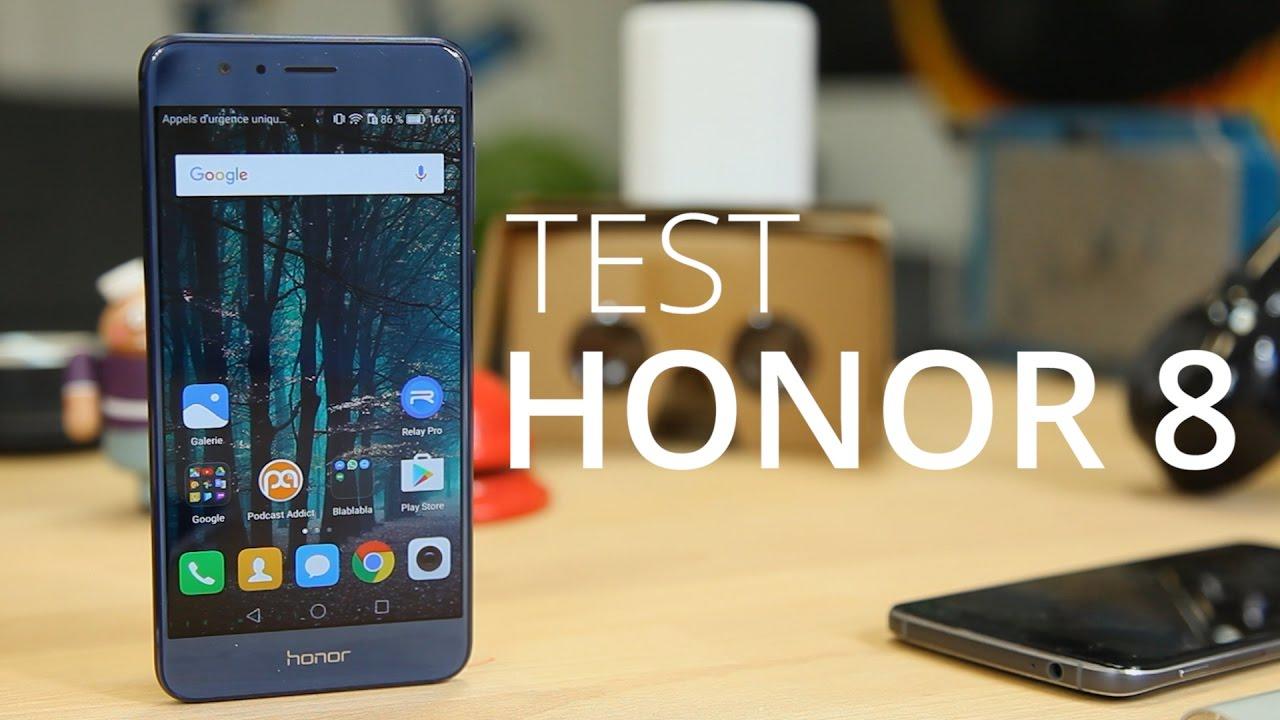 Test du Honor 8, glissant, mais intéressant
