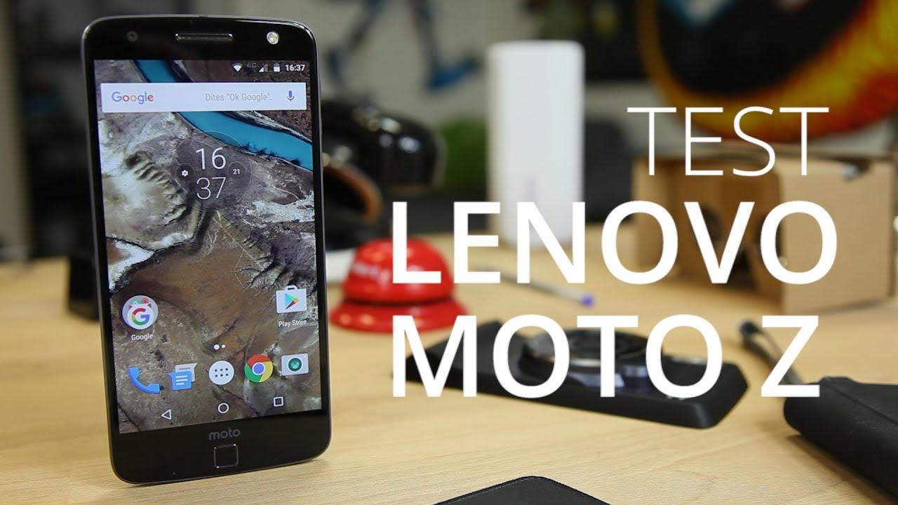 Test du Lenovo Moto Z, le smartphone ultra fin et modulaire