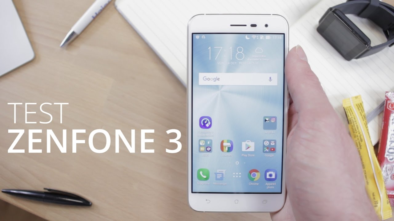 Test du Asus ZenFone 3, le verre ne fait pas tout