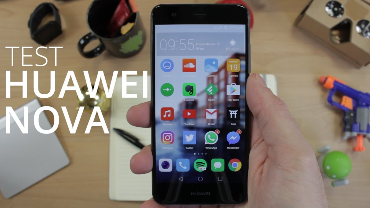 Test du Huawei Nova : enfin un bon téléphone Android compact
