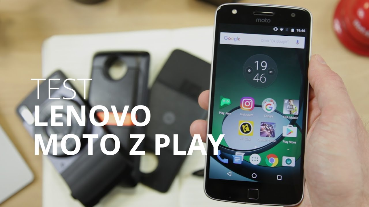 Test du Lenovo Moto Z Play : l'autonomie sans le design