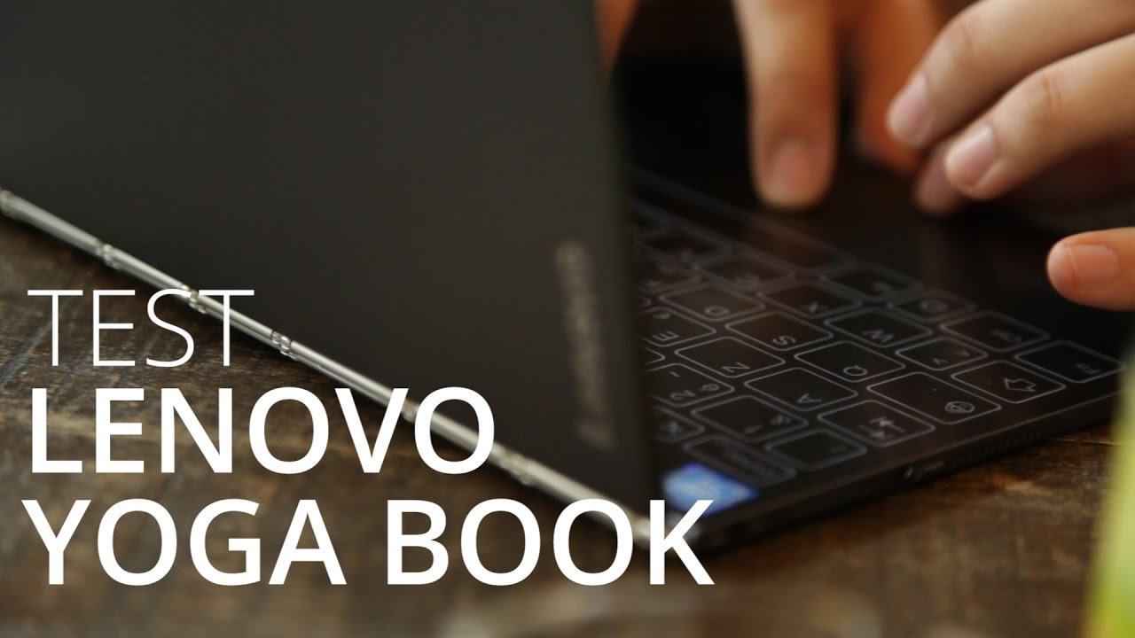 Test de la Lenovo Yoga Book : la tablette graphique à emporter partout