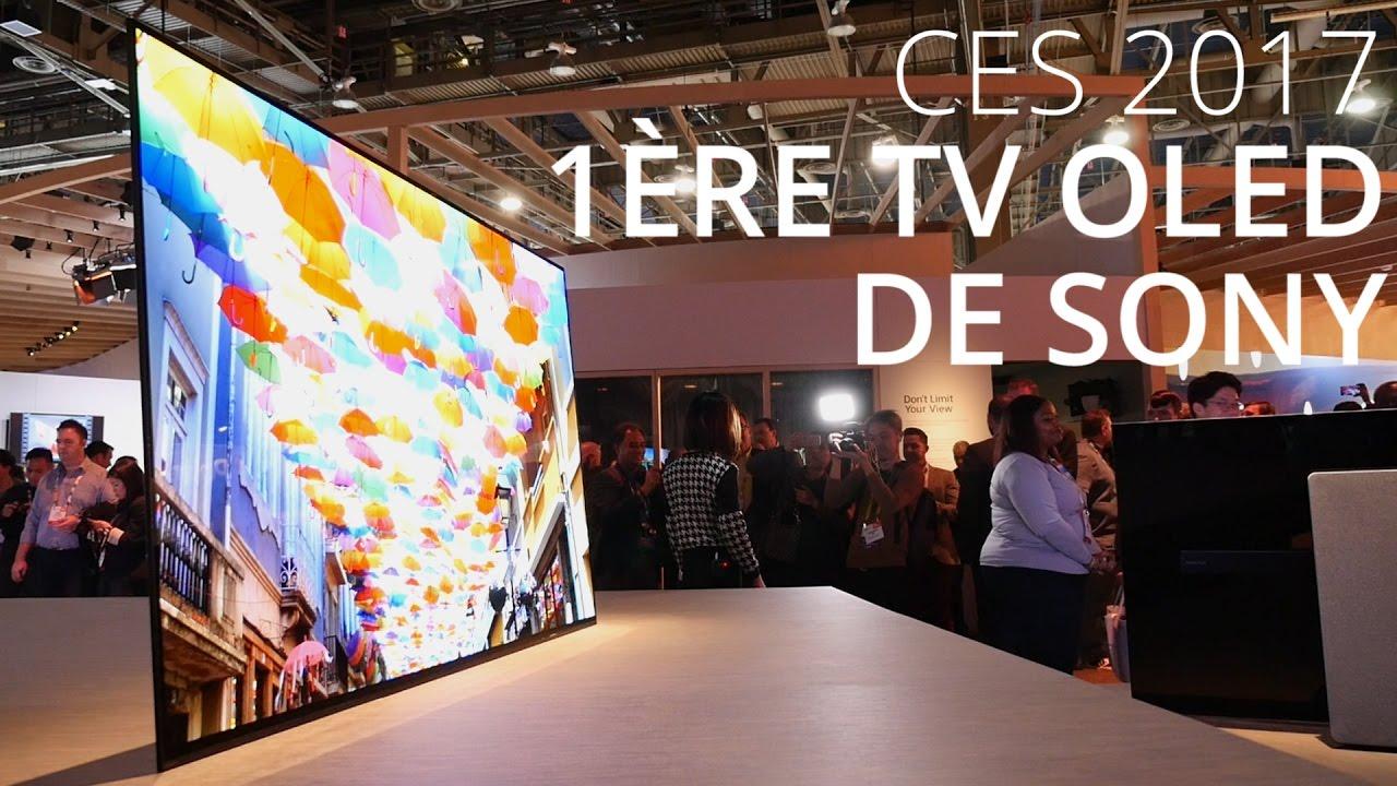 Découverte de la première TV OLED de Sony - CES 2017