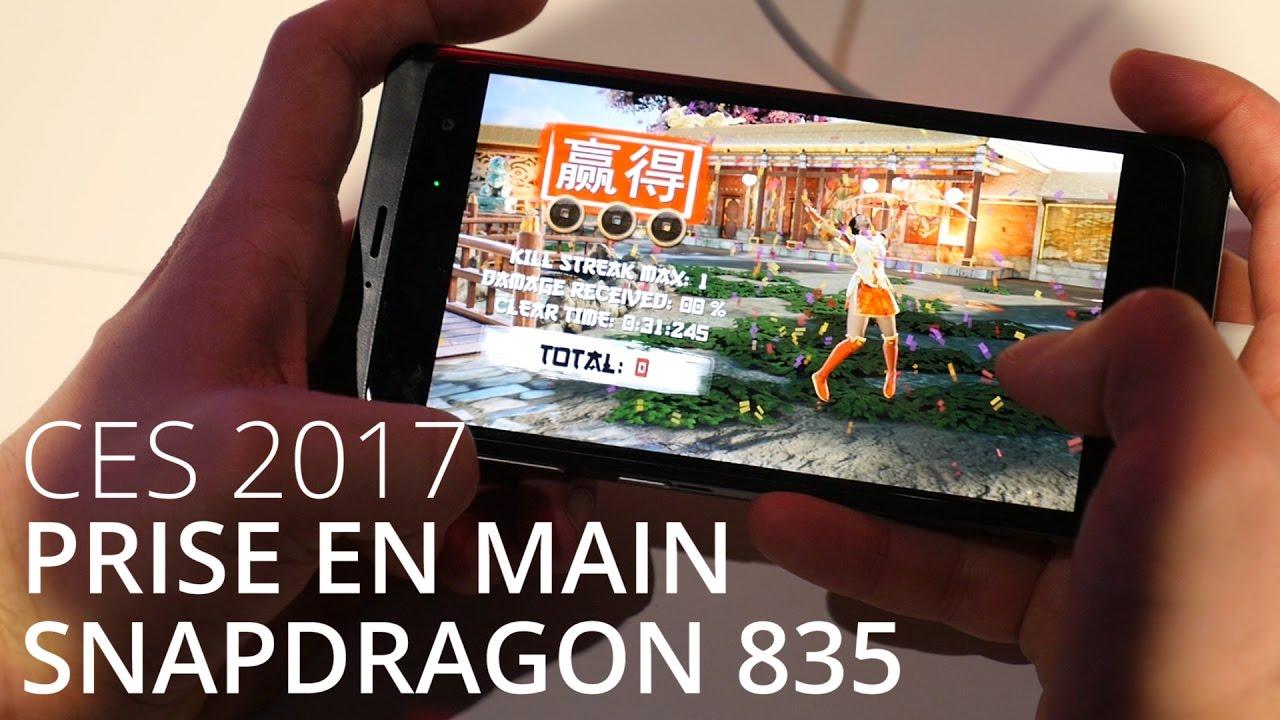 Qualcomm Snapdragon 835, on l'a essayé sur un jeu Vulkan - CES 2017