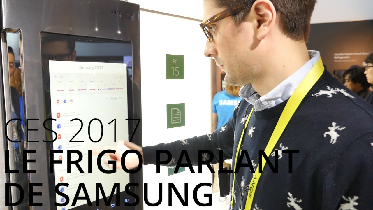 Découverte du Samsung Family Hub 2.0, le frigo sous Tizen