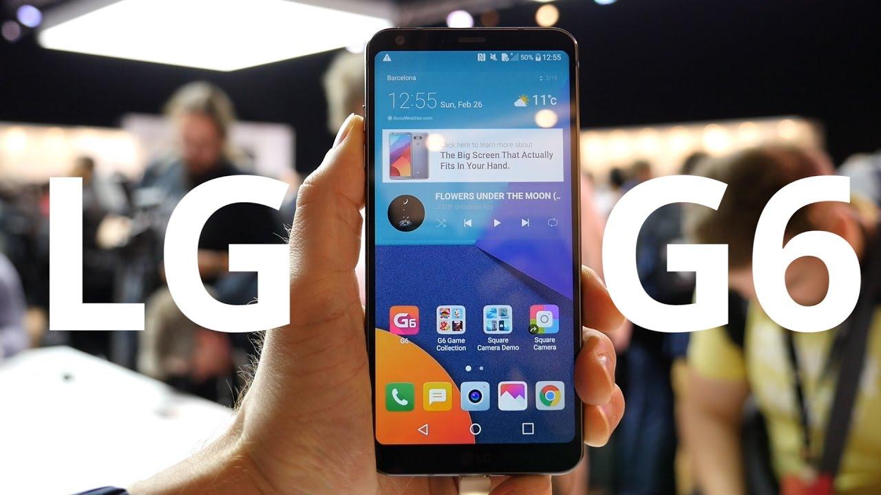 On a testé le LG G6 au MWC 2017
