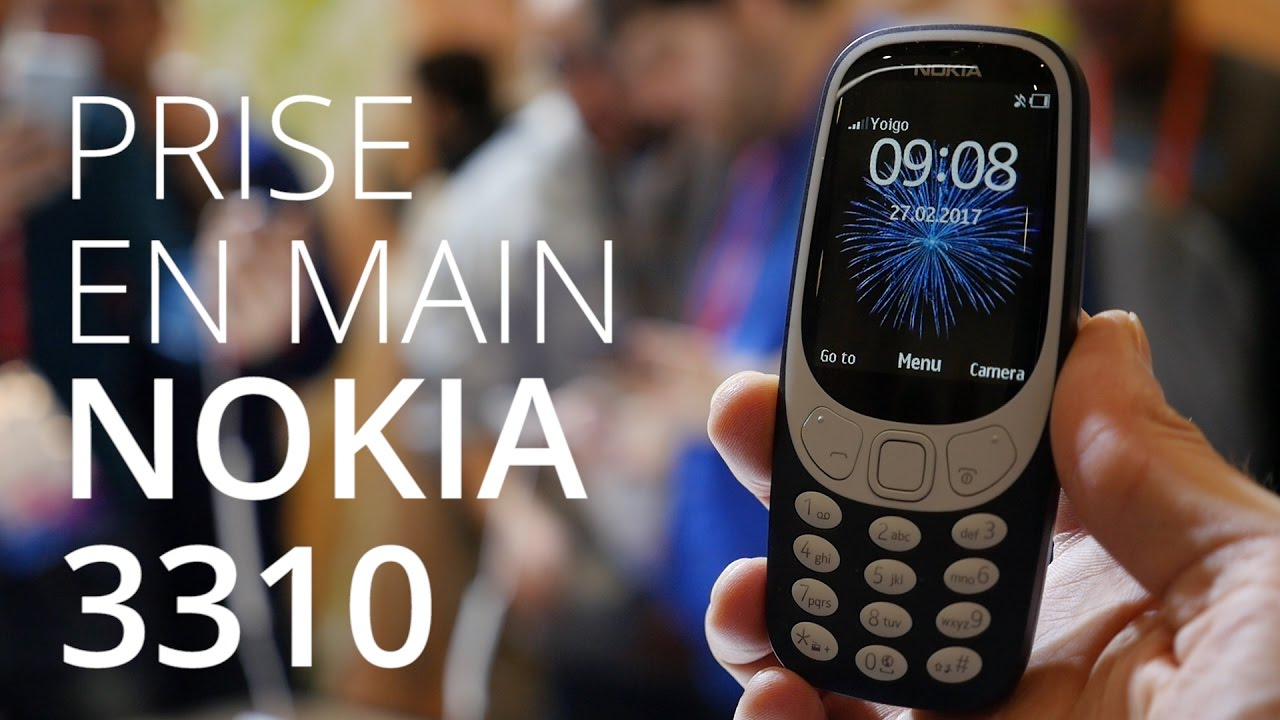 On a testé le Nokia 3310 au MWC 2017, c'était mieux avant ?