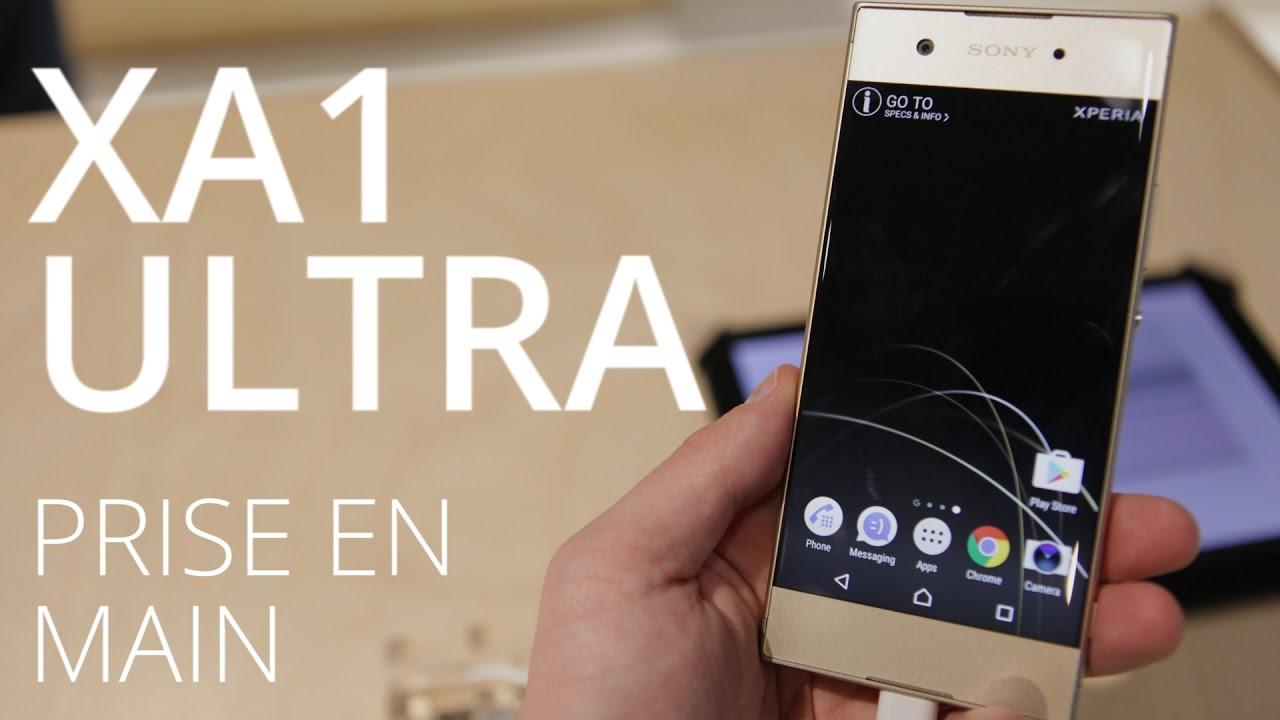 Sony XA1 et XA1 Ultra : le japonais mise gros sur la photo