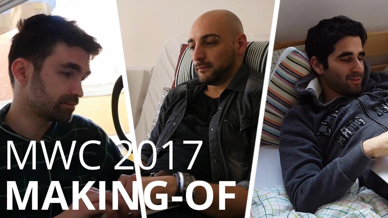 Les coulisses du MWC 2017