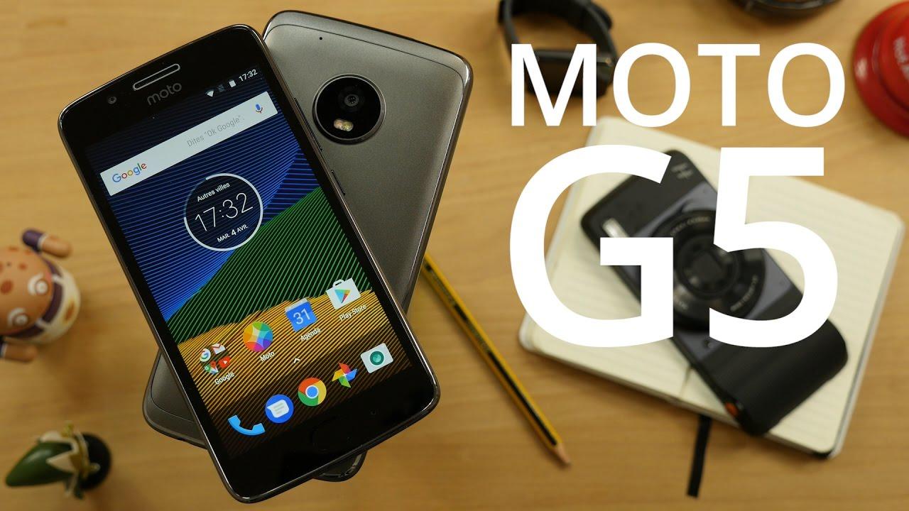 Test des Lenovo Moto G5 et G5 Plus : une expérience Android pure à prix abordables