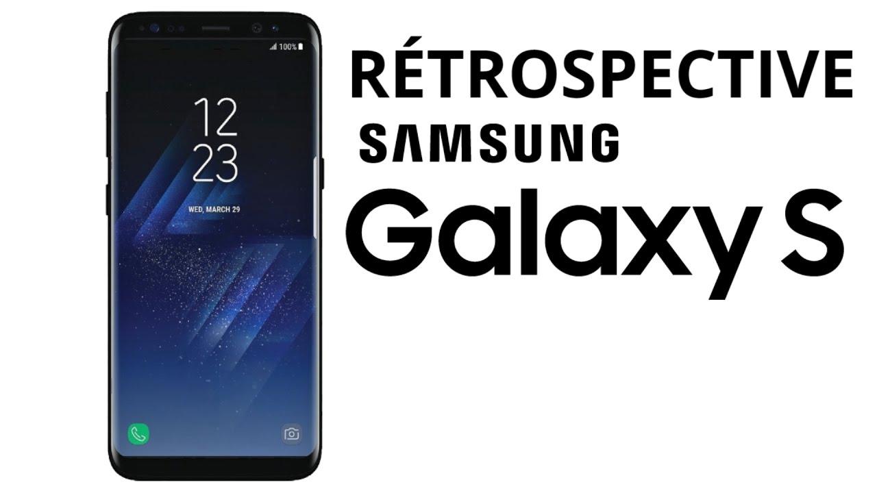 En bref : la rétrospective Samsung Galaxy S