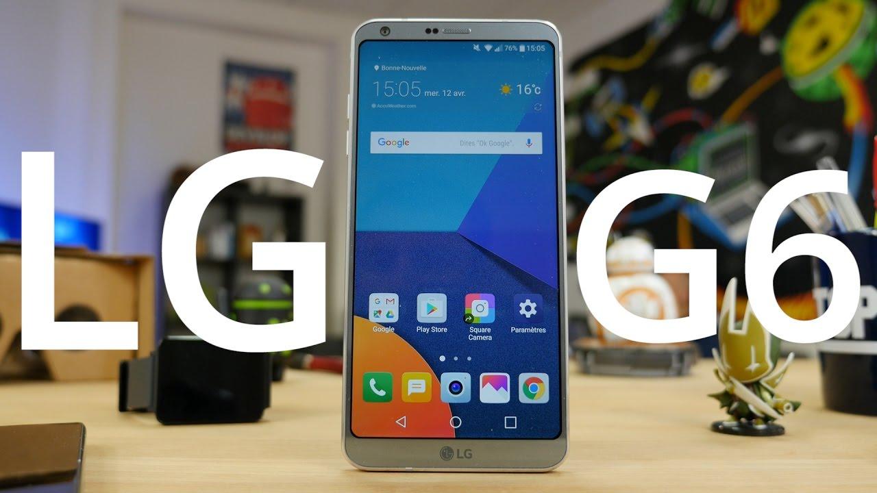Test du LG G6 : Très bon mais trop tard ?