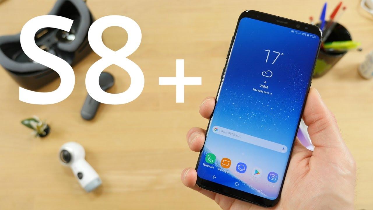 Test du Samsung Galaxy S8+ : vers l'écran infini et au-delà !