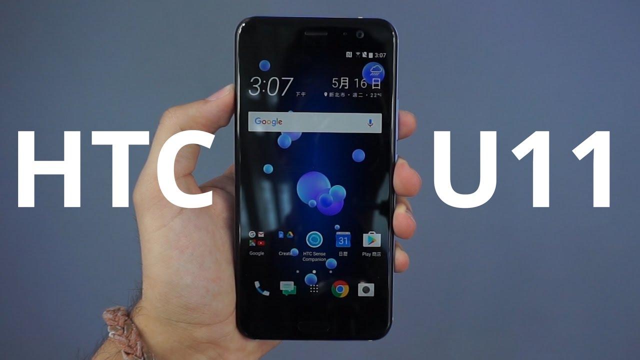 On a pris en main le HTC U11, le smartphone à presser !