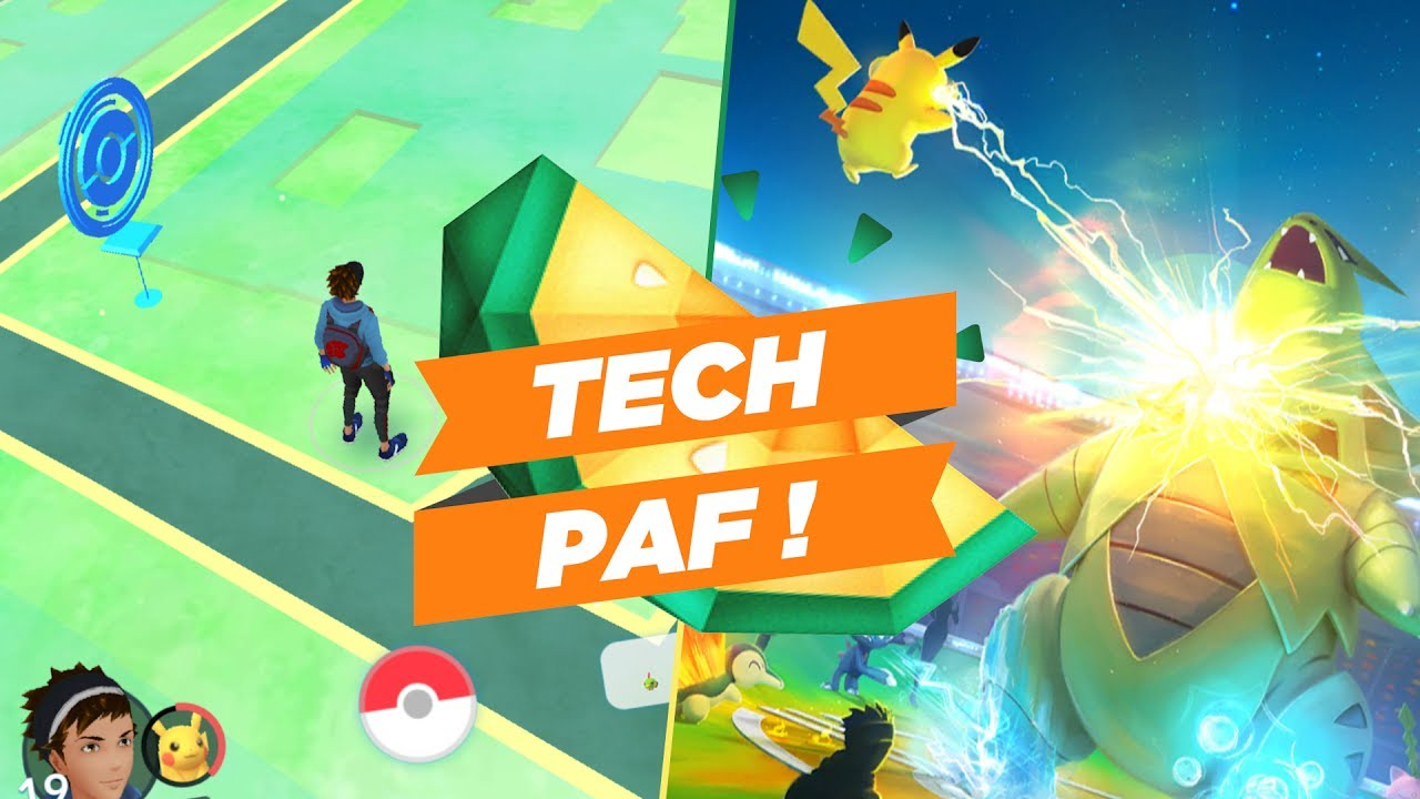 TechPaf #16 : Pokemon GO (avec Newtiteuf), buzz d'un été ou jeu à long terme ?