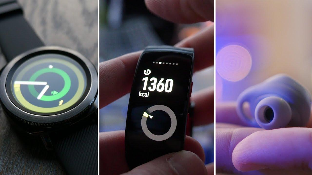Prise en main des Samsung Gear Sport, Gear Fit 2 Pro et IconX à l'IFA 2017