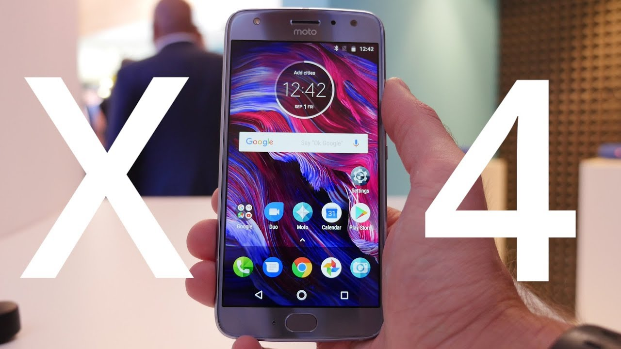 Prise en main du Motorola Moto X4 : classique et efficace