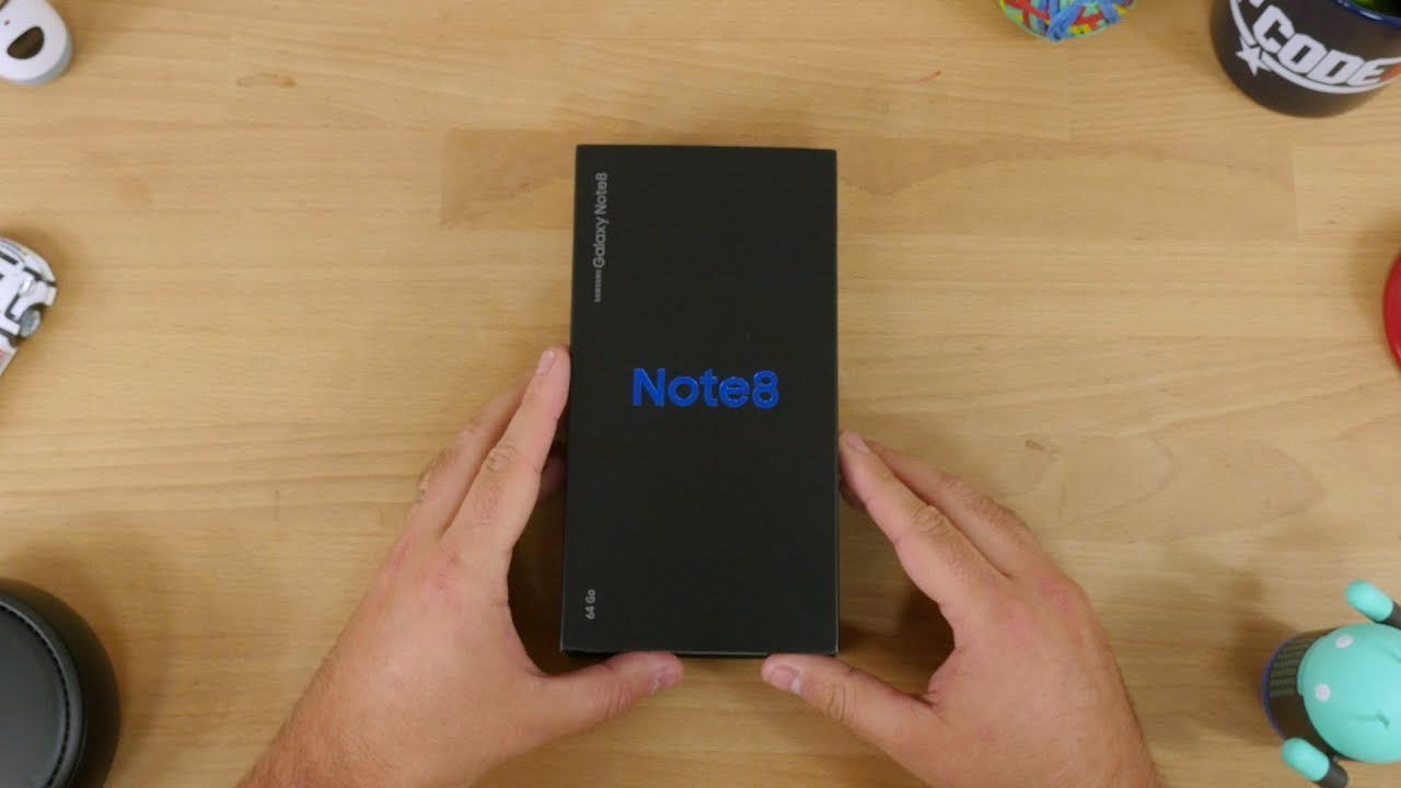 Unboxing du Samsung Galaxy Note 8