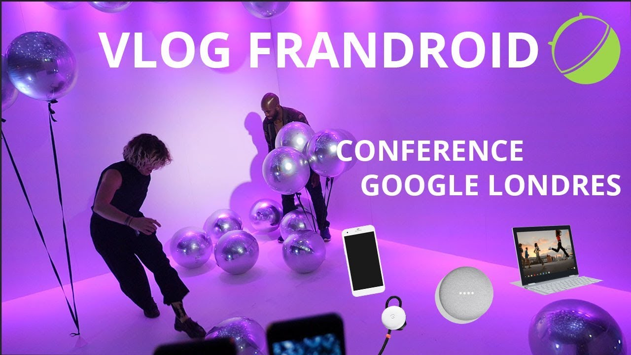 Conférence Google : Pixel 2, Home Mini et Max, Clips, Daydream View