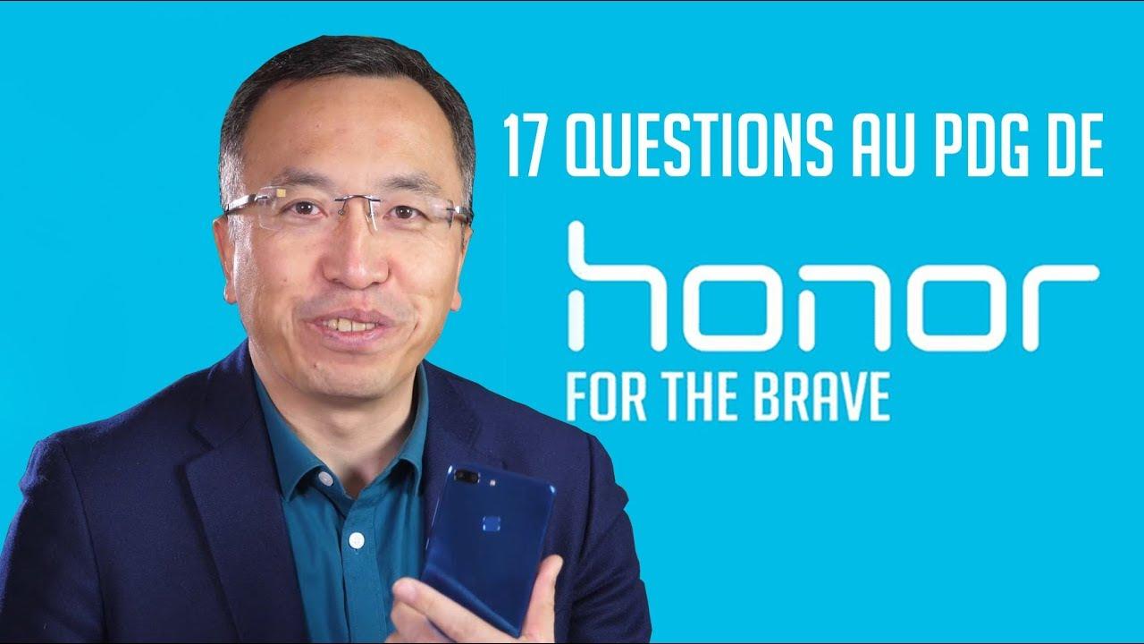 On a posé 17 QUESTIONS au PDG de HONOR !