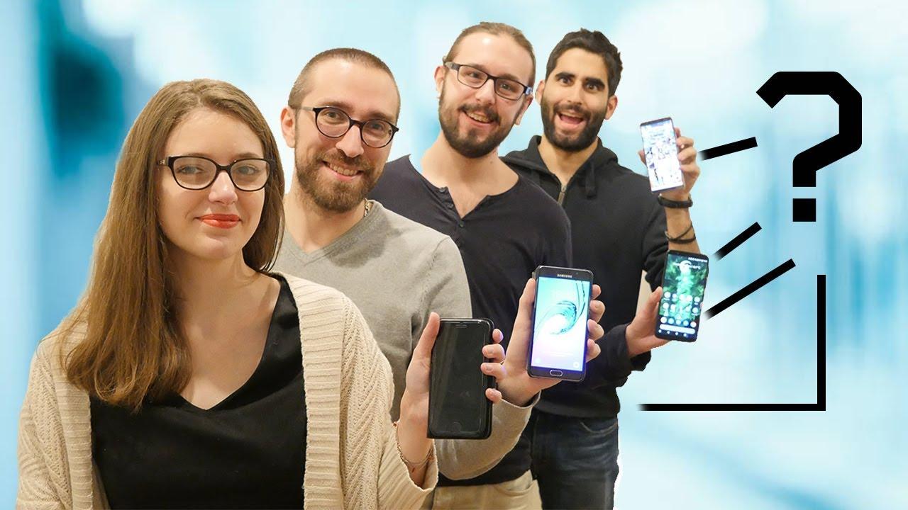 LES SMARTPHONES de FrAndroid ENFIN révélés ! Trop de LOVE dans la Team !