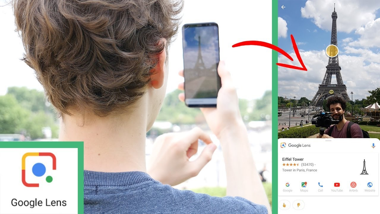 L'appareil photo de VOTRE smartphone est MAGIQUE ! GOOGLE LENS débarque en FRANCE !