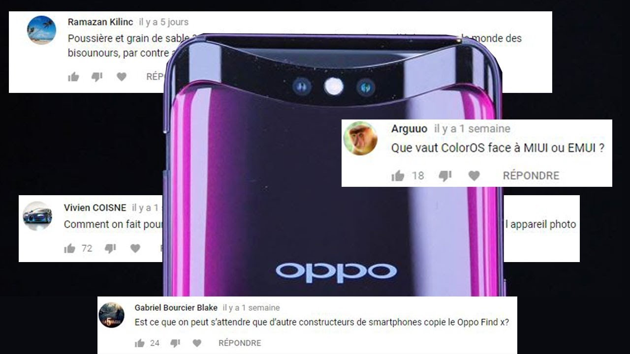 Oppo/Oppo Find X : On répond à VOS questions !