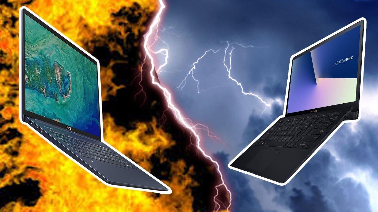 Asus VS Acer : LE clash des ultrabook !