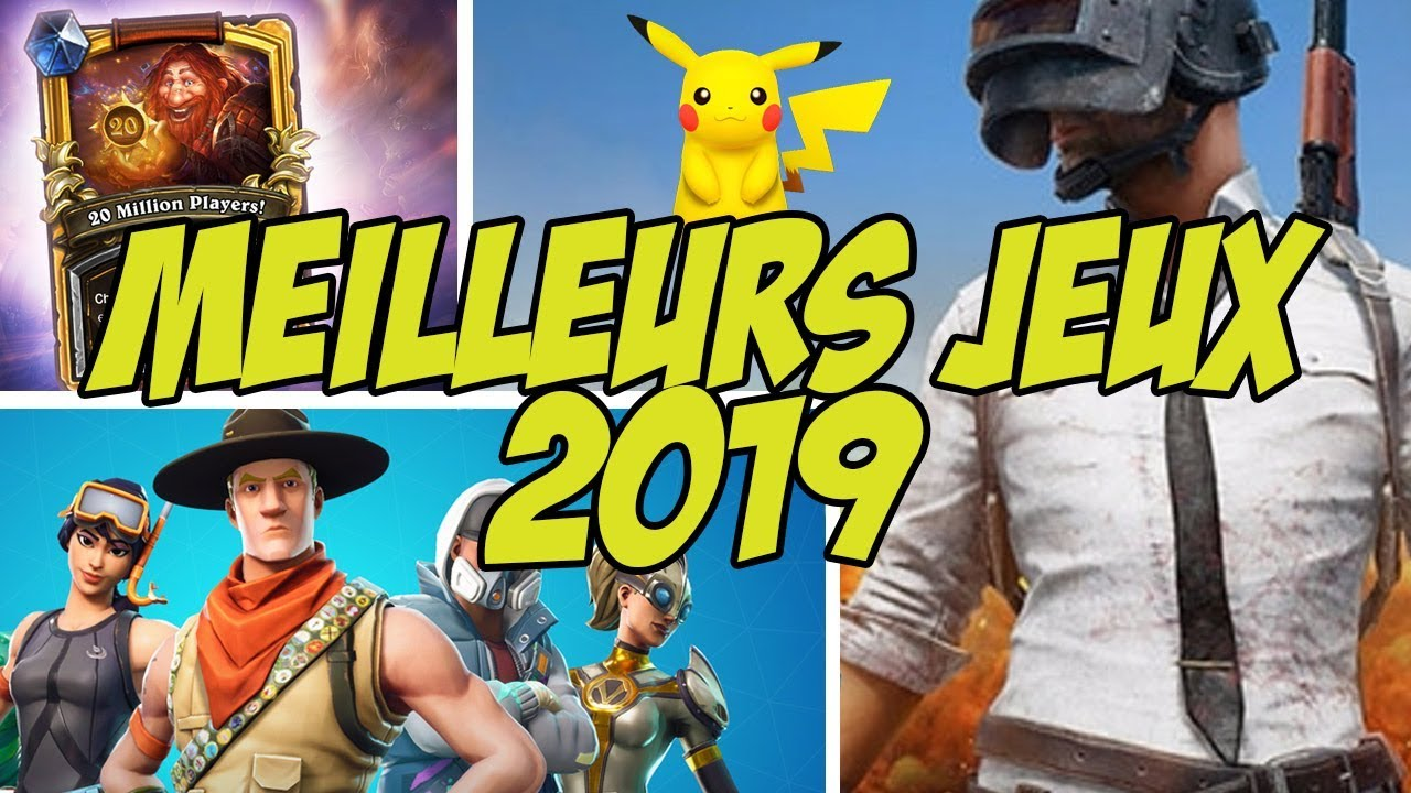 TOP 10 des MEILLEURS JEUX MOBILES pour 2019 !