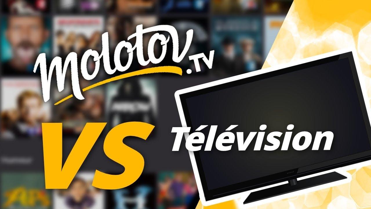 INTERNET VS LA TÉLÉVISION : la bataille acharnée de Molotov !