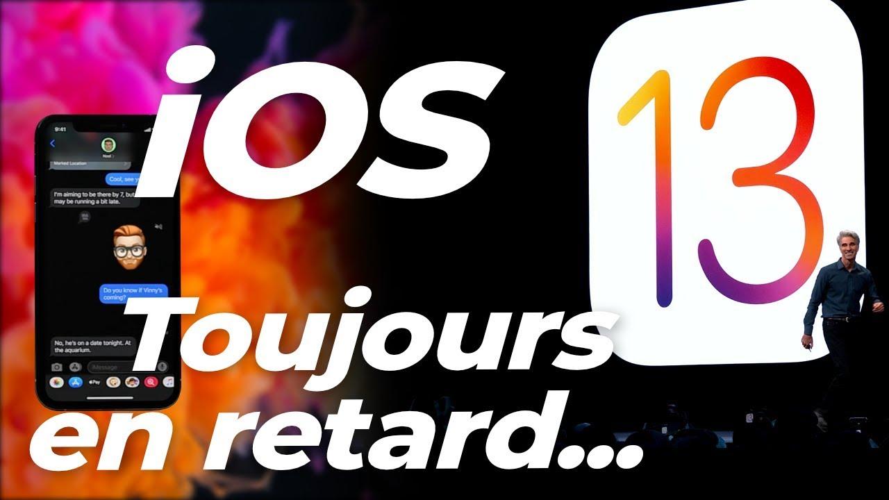 iOS 13 : Apple a ENCORE copié Android !