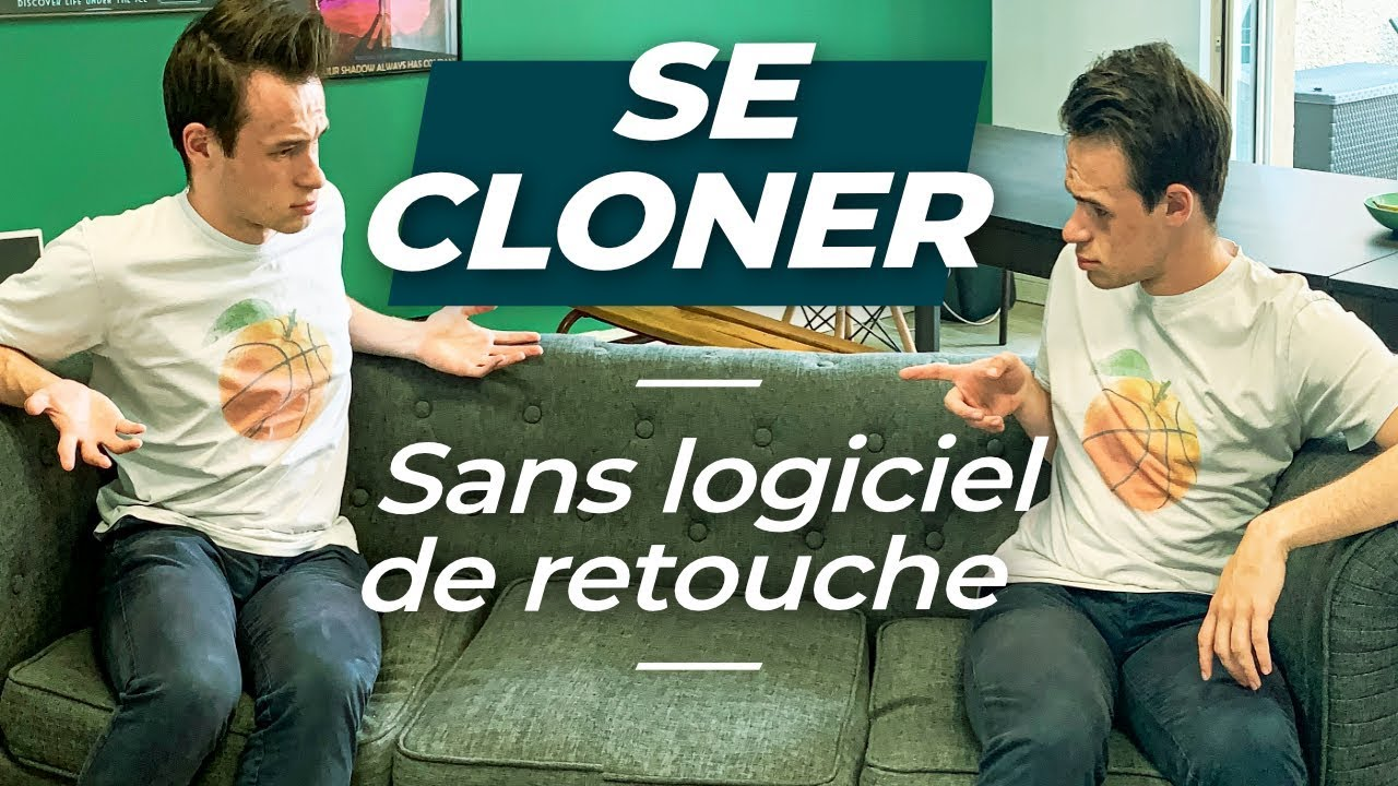 Comment SE CLONER avec son smartphone SANS RETOUCHE PHOTO !