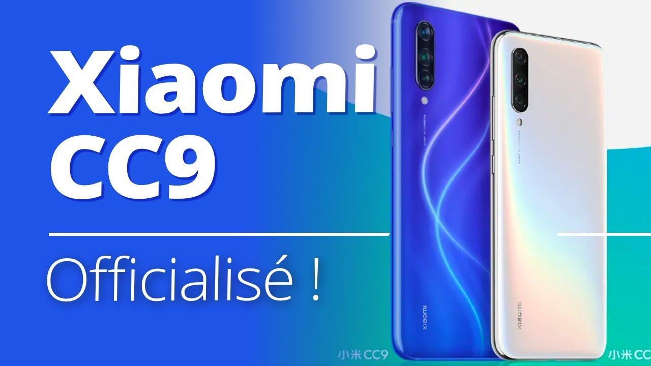 Xiaomi CC9 : le nouveau MONSTRE de la PHOTO ?!