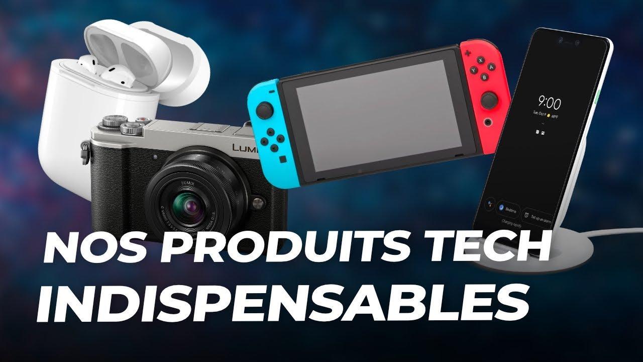 Les produits tech PRÉFÉRÉS ET INDISPENSABLES de FrAndroid !
