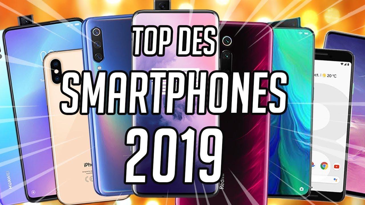TOP 10 DES MEILLEURS SMARTPHONES DE 2019 [Frandroid]